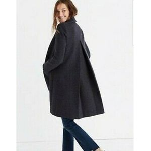 Madewell Teatro Swing Coat wool